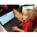 Using the laptops