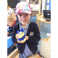 Making a Playdough Minion