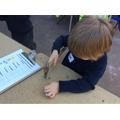 Using real tools and materials
