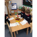 writing about the gingerbread man