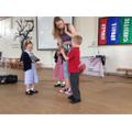 BBC's Emma visiting Foundation