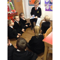 Year 6 eCadet teaching Smartie to Reception