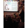 Year 6 eCadet teaching Smartie to Reception