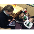 Year 3 eCadet teaching Digi-Duck to Year 2