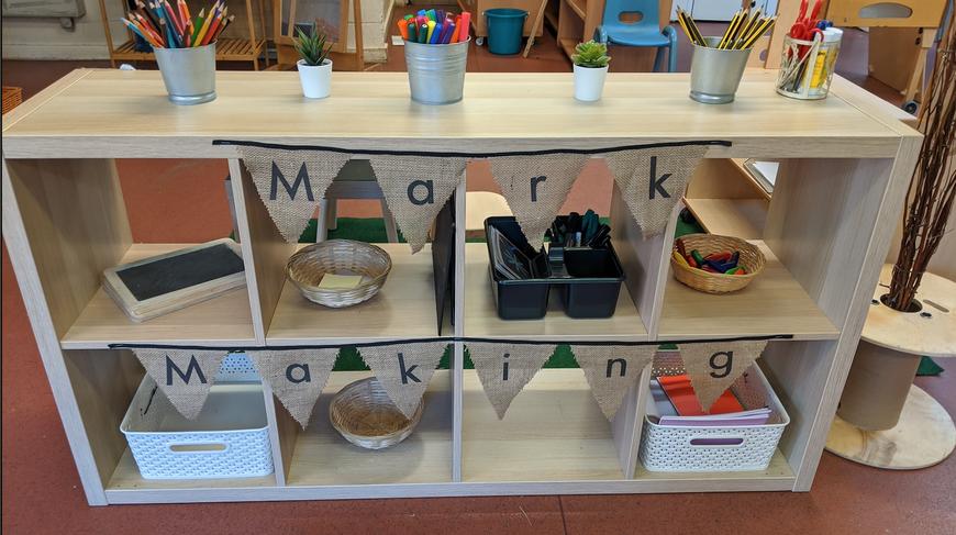 Mark Making Area