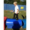 Practising balancing skills