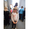 Dressing up in the museum