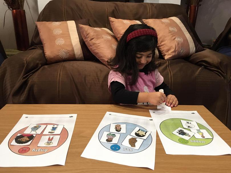 Anayah is learning all about feelings