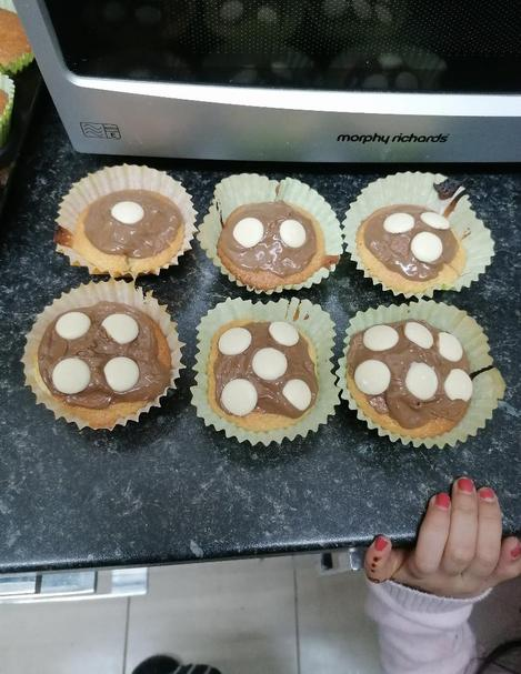 I love how Khadija has explored subitising whilst baking! These cakes look yummy 😋