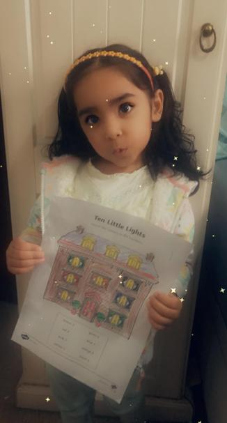 Super colouring and Humber work Eshal