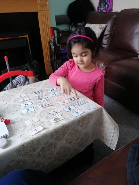 Khadija has been doing some fantastic number work