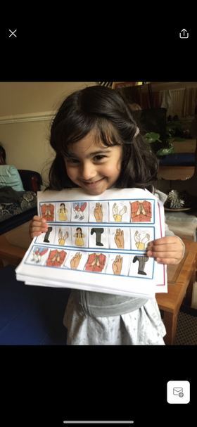 What amazing phonic work form Anayah learning all about body percussion.
