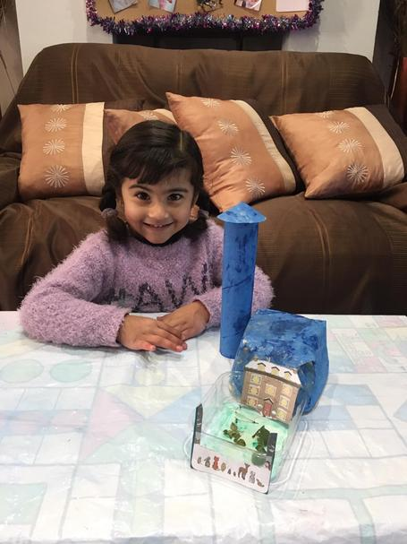 I love Anayah's house that she has made 🏡