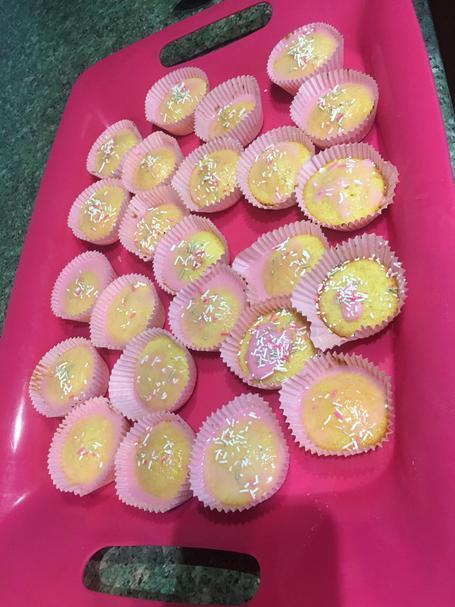 Anayah's cakes look delicious
