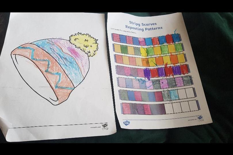 Wow what lovely colouring and pattern making Ruqayya! Fantastic 👏🏻