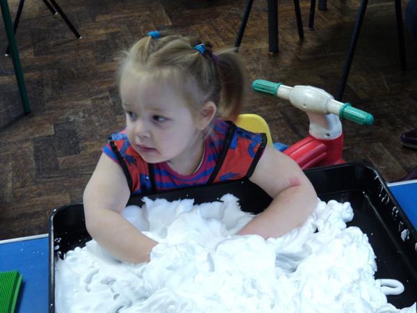 Crazy foam fun! 9-11-11