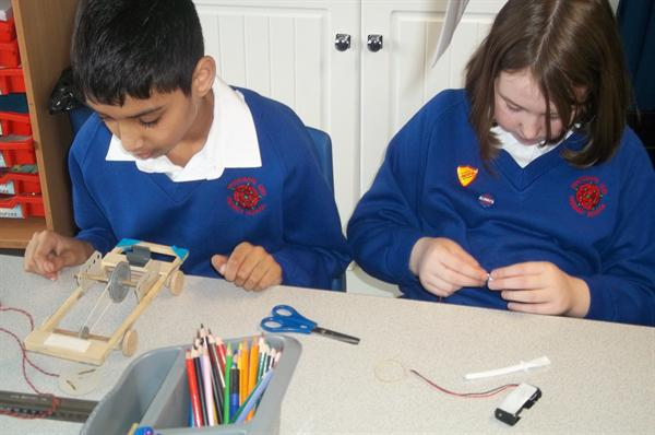 Making an electrical circuit for our cars