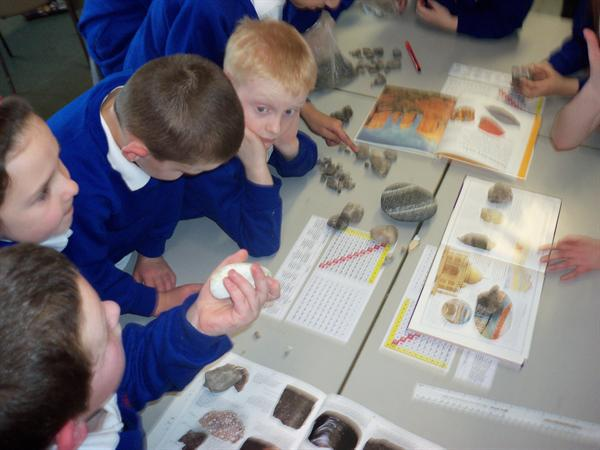So much to learn about rocks!