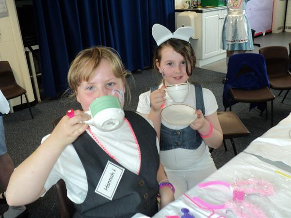 MAD HATTER'S TEA PARTY!