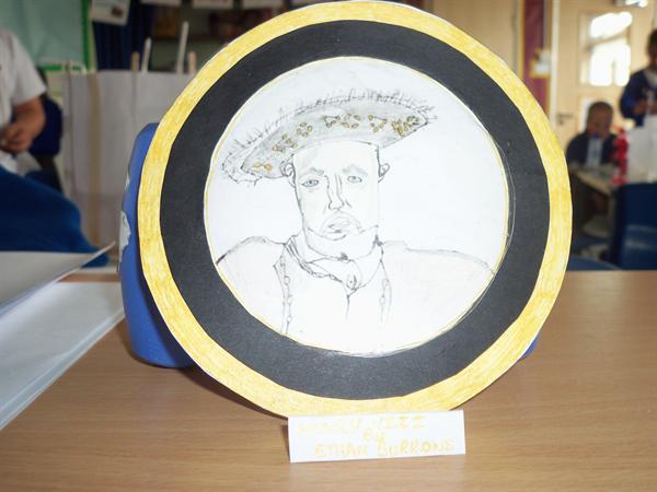 Henry VIII miniature portrait