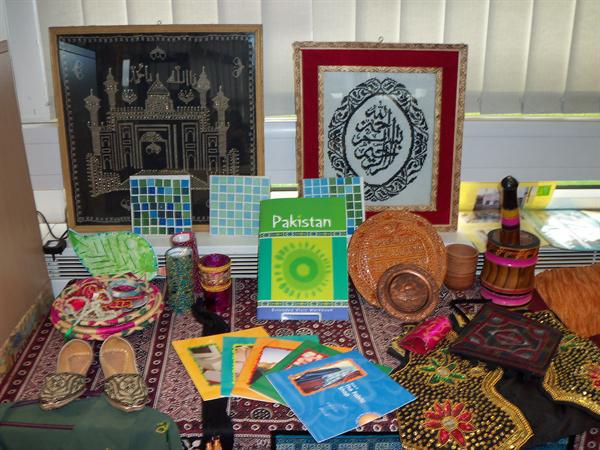 We looked at artefacts from Pakistan