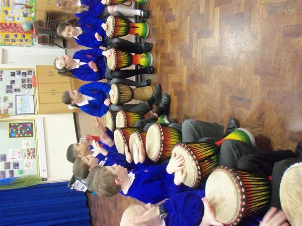 African Drumming!!!
