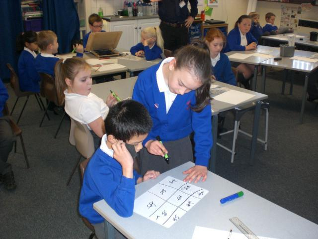 Bingo multiplication - Has he got them all Miss M?