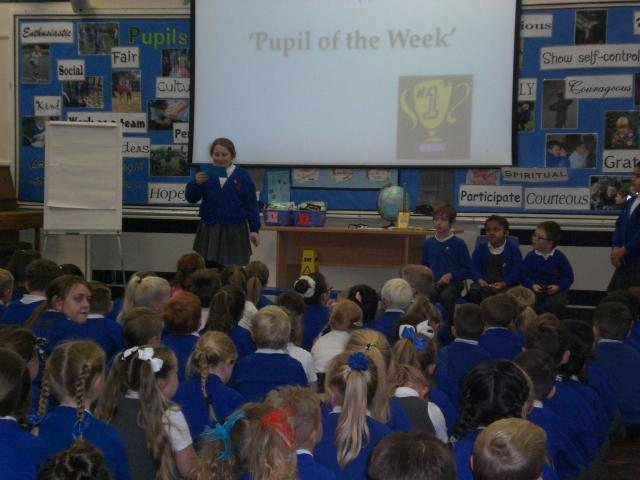 This week star of the week goes to ........