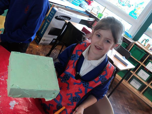 Painting our memory boxes