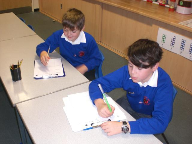 Lesson observations with our new Deputy Heads