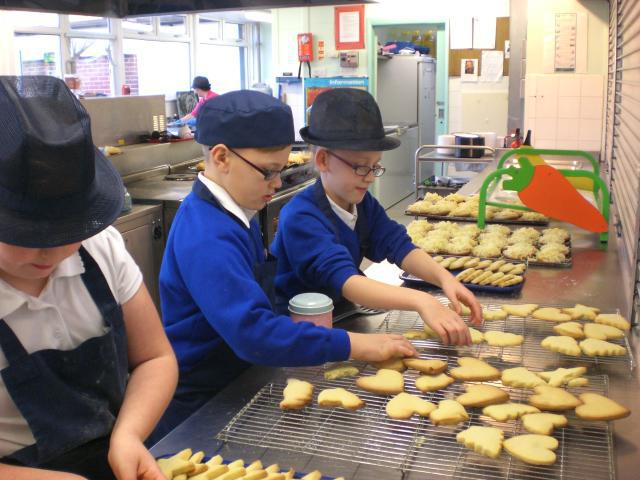 Tasty biscuits made by our cooks