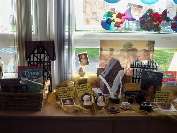 Our Tudor Display