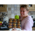 Miss Lees making her Zesty Muffins @ home!