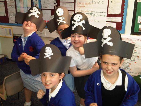 Pirate Hat Making!