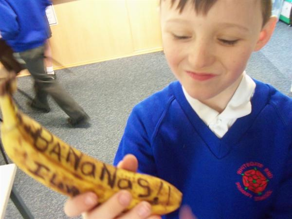 Go bananas! Anthony McGowan's competition!