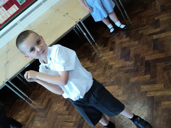 Drama Day with Liam!