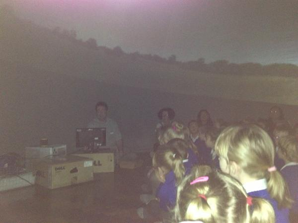 Year 1 and 2 in the PLANETARIUM!