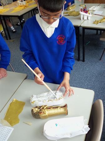Sarcophagus making