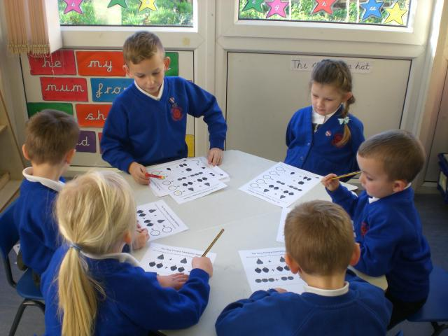 More counting - small group work... Mr M