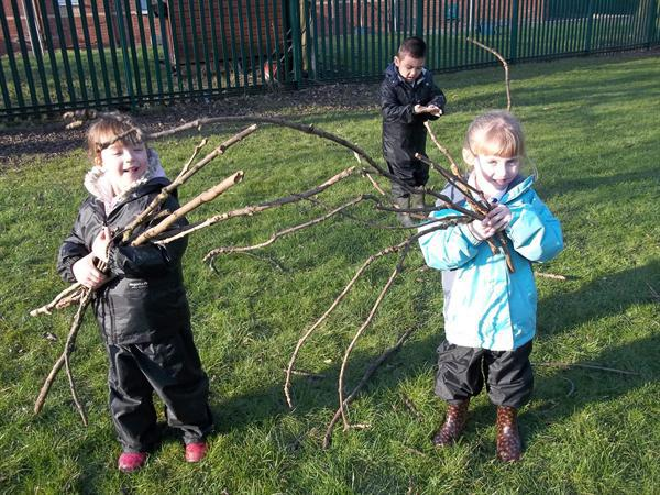 Meet our Forest School group
