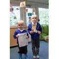 EYFS Welly Design Winner