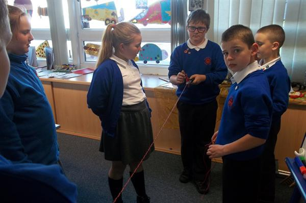 'Making' our wires for our car circuit