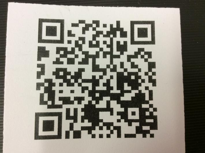 We scanned this QR code independently.