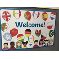 We welcome children from all countries.