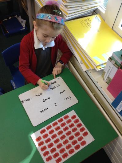 We write super sentences!
