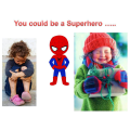 ...by being a Super Hero!