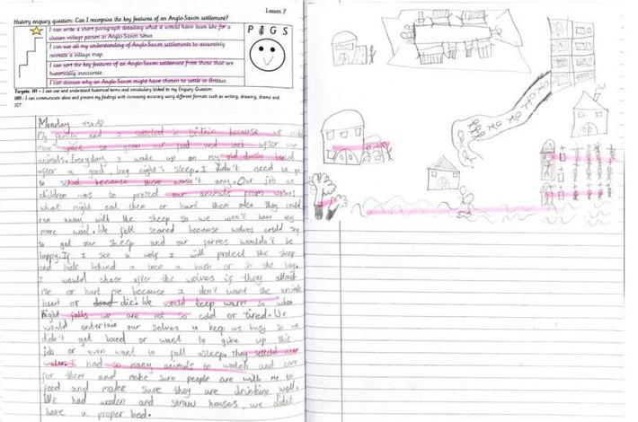 Enquiry work around Anglo Saxon settlements