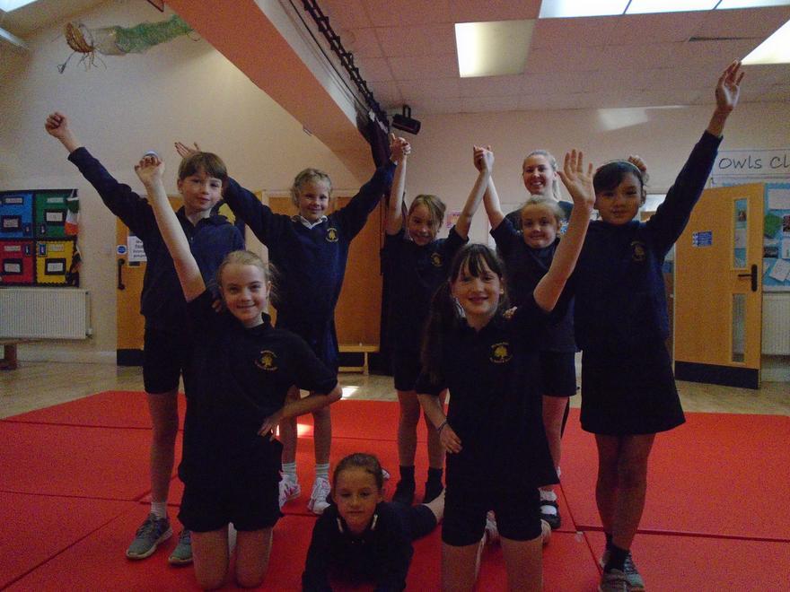 Cheer Leading Club on Thursday mornings