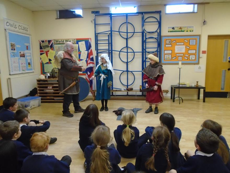 """Waylander"" teaching us about the Anglo-Saxons."