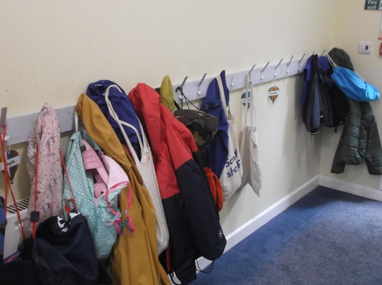 Where you will hang your coat!
